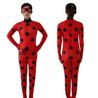 Sell Like Hot Cakes Kids Women Girls Miraculous Ladybug Cosplay Costume Cat Noir Cute Ladybug Romper