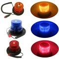 12 V de Alta potência Âmbar Amarelo/Vermelho/Cor Azul 26 LED Car Truck flash De Advertência farol de ônibus escolar Strobe Emergência luz base Magnética