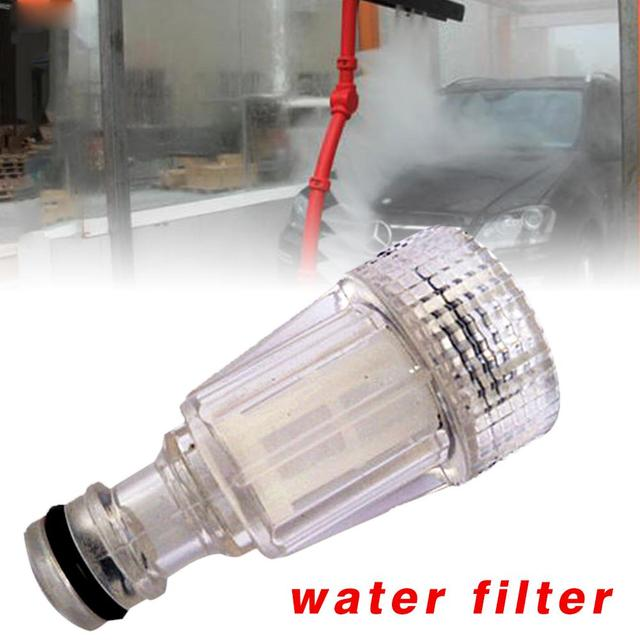 Car Wash Machine Water Filter High Pressure Fitting Universal Nipple Connector Cleaning Accessories For Karcher K2-K7 Series
