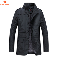2018 Brand New arrival men's jacket Slim Fit high quality Men's autumn clothing man Jackets zippers warm cotton quilted jacket
