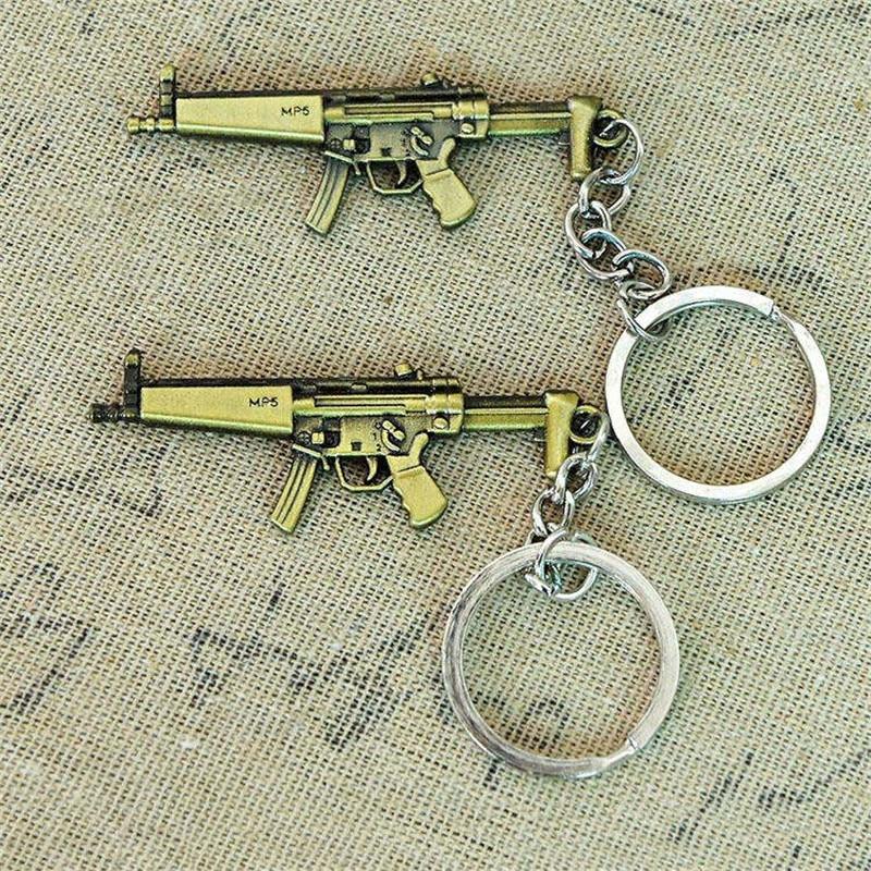 Keychains bullet gun model (7)