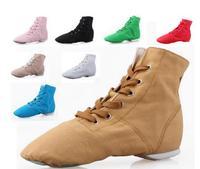 New 2017 Discount Woman S Men S Jazz Dance Shoes Lace Up Boots Woman Men Jazz