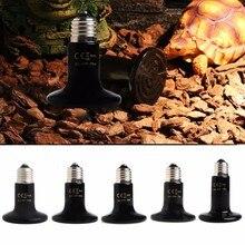 Pet Reptile Breeding Infrared Ceramic Heater Light Lamp Bulb Hot 50/75/100/150/200W