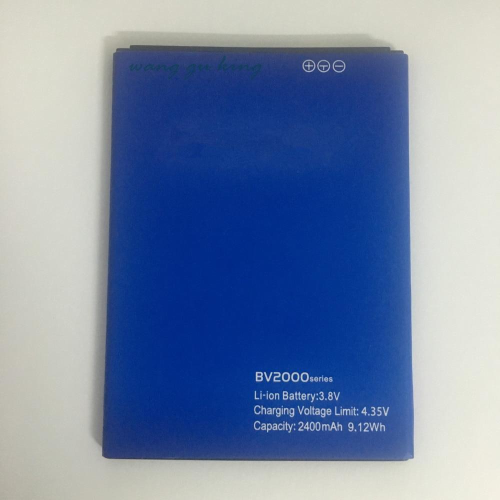 Pour Blackview BV2000 BV 2000 Remplacement Téléphone Batterie de Haute Qualité 2400 mAh Li-ion Téléphone Intelligent Pièces pour Blackview BV2000S