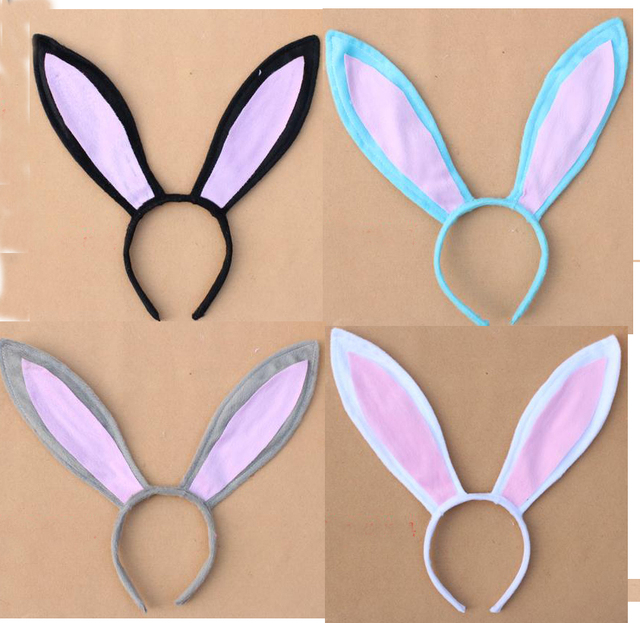 Free shipping children adult easter gift decoration big rabbit free shipping children adult easter gift decoration big rabbit bunny ear headband costume party hairband negle Gallery