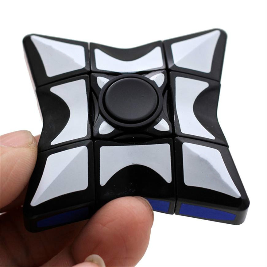 IPiggy Puzzle Spinner Smooth And Speed 1x3x3 Cube Stress Relief Toy FocusToy For Relieving Training