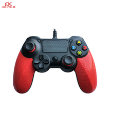 K ISHAKO For Sony Playstation 4 Wired Game Controller for PS4 Pro Vibration Joystick for DualShock 4 USB Gamepads все цены