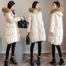 2018 nuevas señoras casual algodón acolchado ropa invierno gorra algodón acolchado ropa
