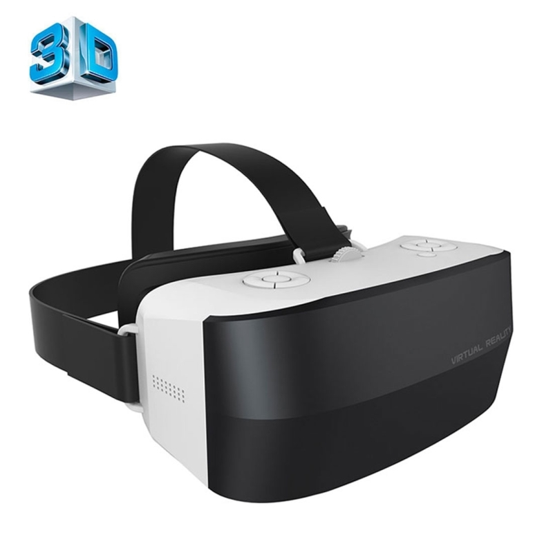 Caraok V9 All-in-One VR Glasses Wifi Virtual Reality 3D Glasses with 1.2GHz Allwinner A33 Quad Core Support OTG caraok v12 android 4 4 all in one 3d vr virtual reality glasses allwinner h8 quad core 2g 16g support wifi bluetooth otg f19631