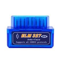ELM327 V1.5 Супер Мини ELM 327 Bluetooth версии 1.5 с ELM-327 OBDII 2 iso для Android Auto диагностический -Инструмент Автомобиль кодекса сканера