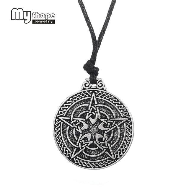 My shape wiccan talisman pendant charm tetragrammaton pentacle my shape wiccan talisman pendant charm tetragrammaton pentacle pentagram pagen amulet antique jewelry necklace for women aloadofball Image collections