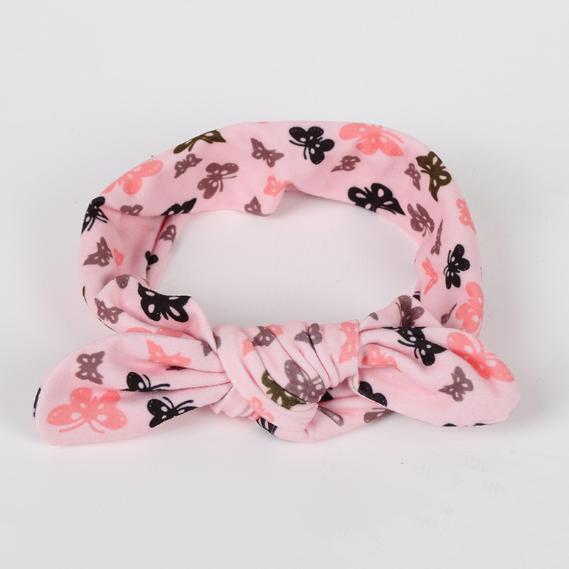 Kids Baby Girls Headbands Rabbit Ear Headwraps Infant Hair Accessories Kids Bowknot Hairbands 3 pieces lot artificia flower hairbands with pearl for kis girls rhinestone fabric flowers hard satin headbands hair accessories