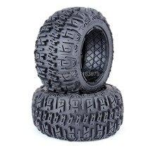Baja 5B nuevo trasera knobby juego de neumáticos para HPI Rovan MCD