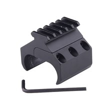 Tactical Hunting Swivel Converter Weaver Picatinny Adapter Rail Flashlight Mount Laser Sight Base Rifle Gun Accessories 20MM(China)