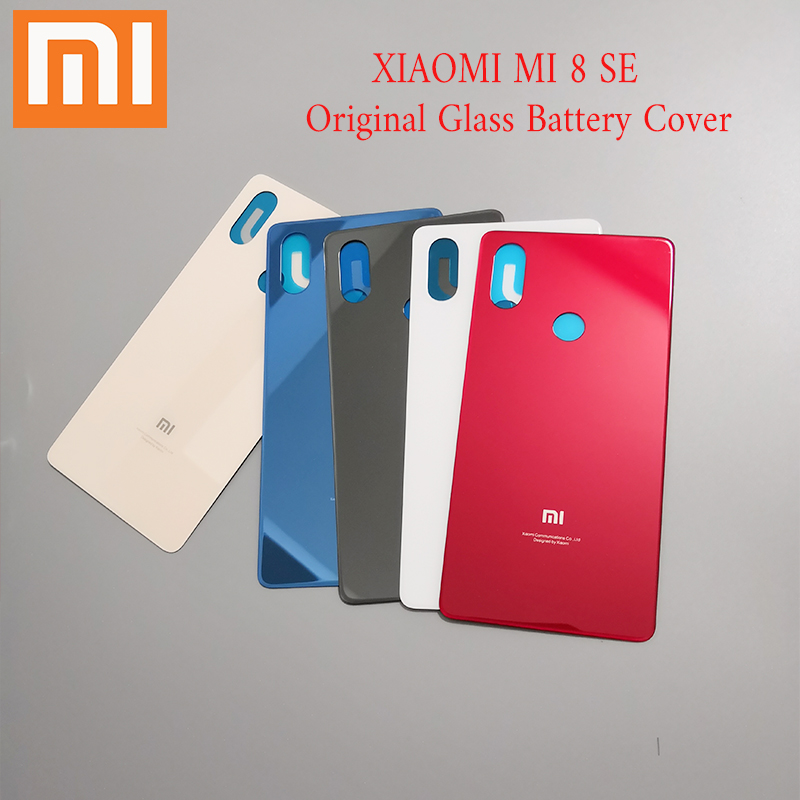 Housing-Cover Case-Panel-Replacement Battery-Cover-Case Glass Back Door Xiaomi Mi 8 Rear