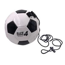 256a931bc1723 Taille 4 avec corde football enfants ballon d'entraînement de formation des  jeunes de football dédiés durable résistant à l.