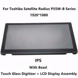 15 6 ips panel lcd screen display touch glass digitizer assembly bezel for toshiba satellite radius.jpg 250x250