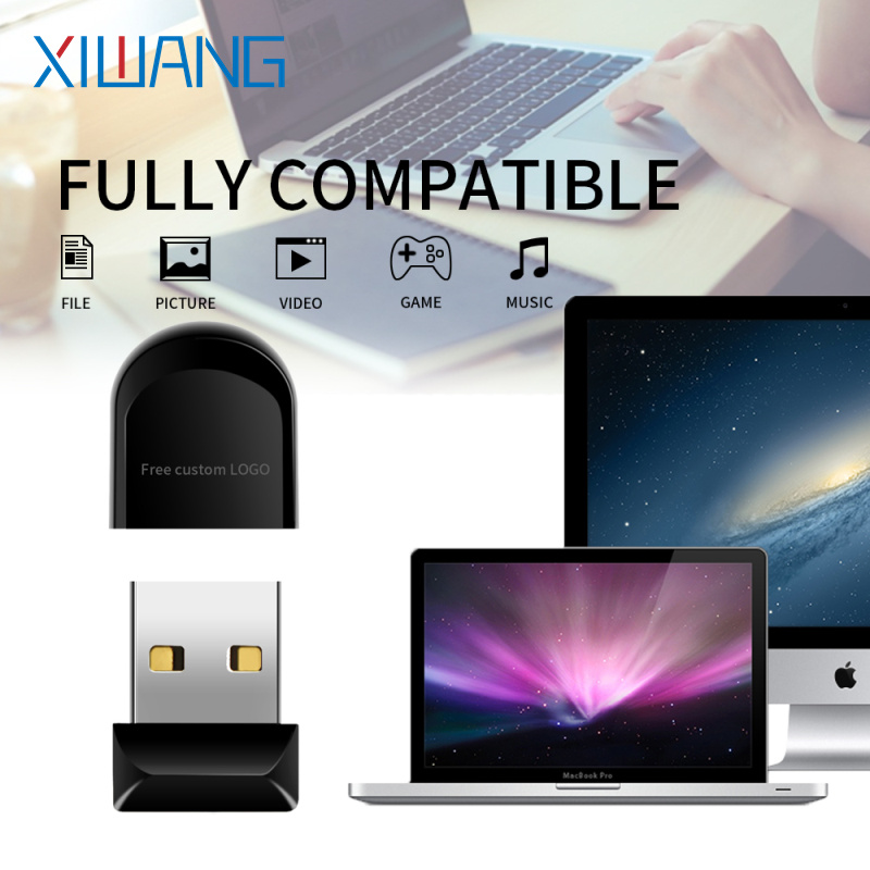 Flash Memory 2.0 Hot Sale New Usb Flash Drive Plastic Pendrive 128gb 64gb 32gb 16gb 8gb 4gb Usb Stick Mini Free Delivery & Logo
