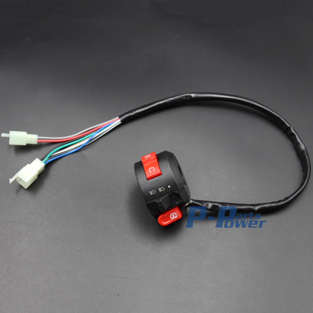 Wiring Harness Loom With Kill Light Starter Switch 50cc 70cc 90cc 110cc Atv 125cc 140cc Quad Bike Buggy Gokart New In Motorbike Ingition From Automobiles