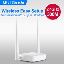 Russian/English Firmware Tenda N301 300Mbps Wireless wifi Router,WIFI Repeater,Home Network Roteador, 4 Ports RJ45 802.11 g/b/n,(China (Mainland))
