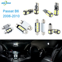 11pcs LED Canbus Interior Lights Kit Package For Volkswagen VW Passat B6 2006 2010
