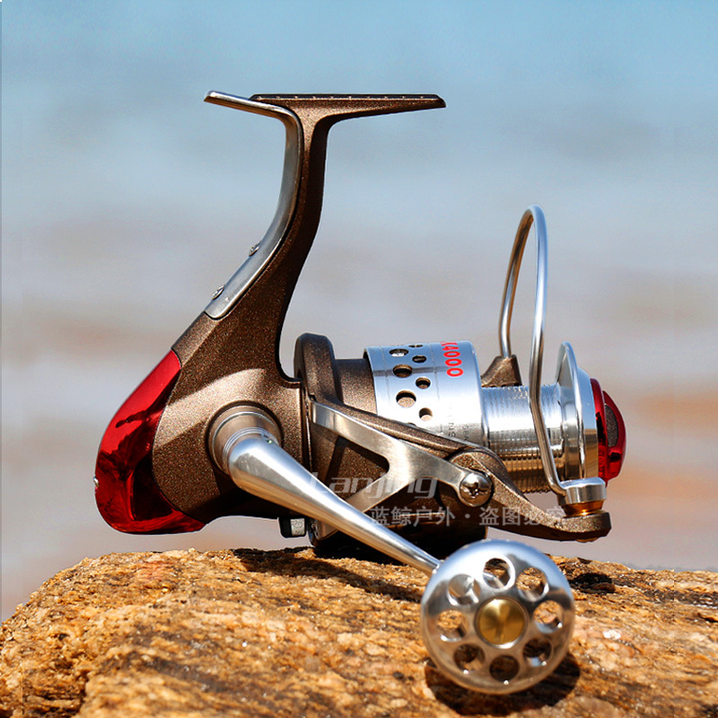 LineWinder 10BB Spinning Fishing Reel Full Metal Handle Strengthen Reel Seat Saltwater Lure Reels Boat Jigging Reel Tackles