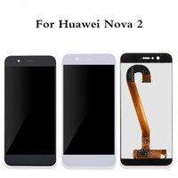 Para huawei nova 2 display lcd + tela de toque alta qualidade 100% novo digitador da tela do painel vidro para huawei nova 2 5.0 Polegada|LCDs de celular| |  -