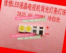 LED 500 Uds retroiluminación 1210 de 3528, 2835 1W 6V 96LM blanco iluminación LCD trasera para TV aplicación de TV 01.JT. 2835BPWS2 C 500 Uds