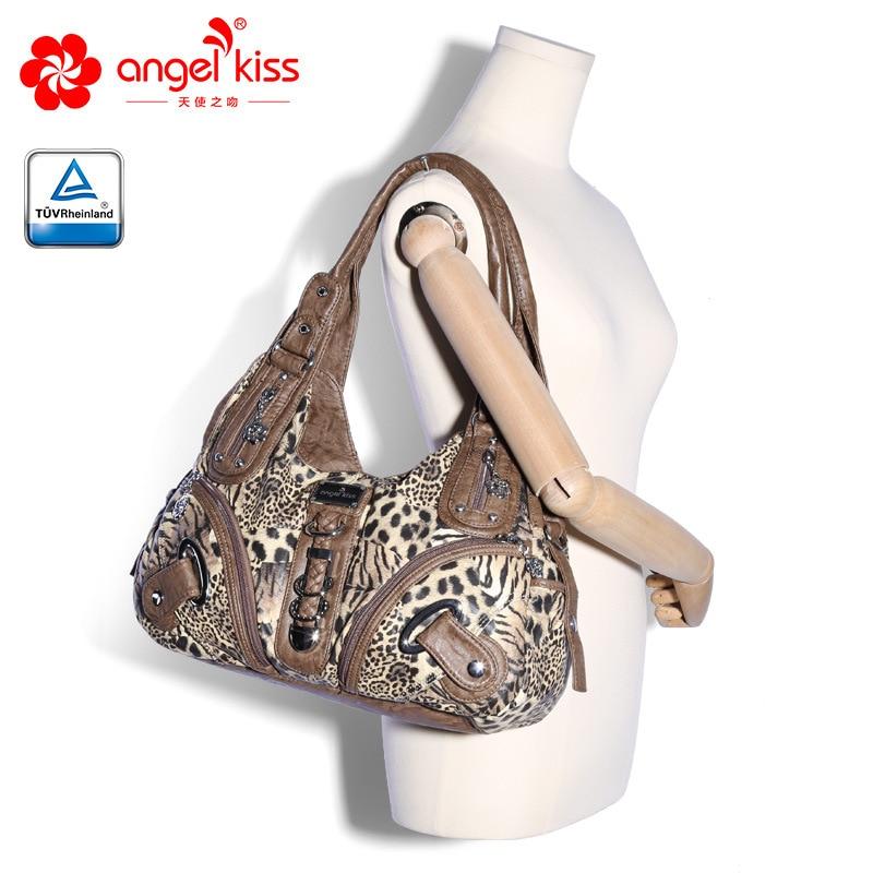 Handbag Hobo Women Handbag Roomy Multiple Pockets Street ladies' Shoulder Bag Fashion PU Tote Satchel Bag for Women 1