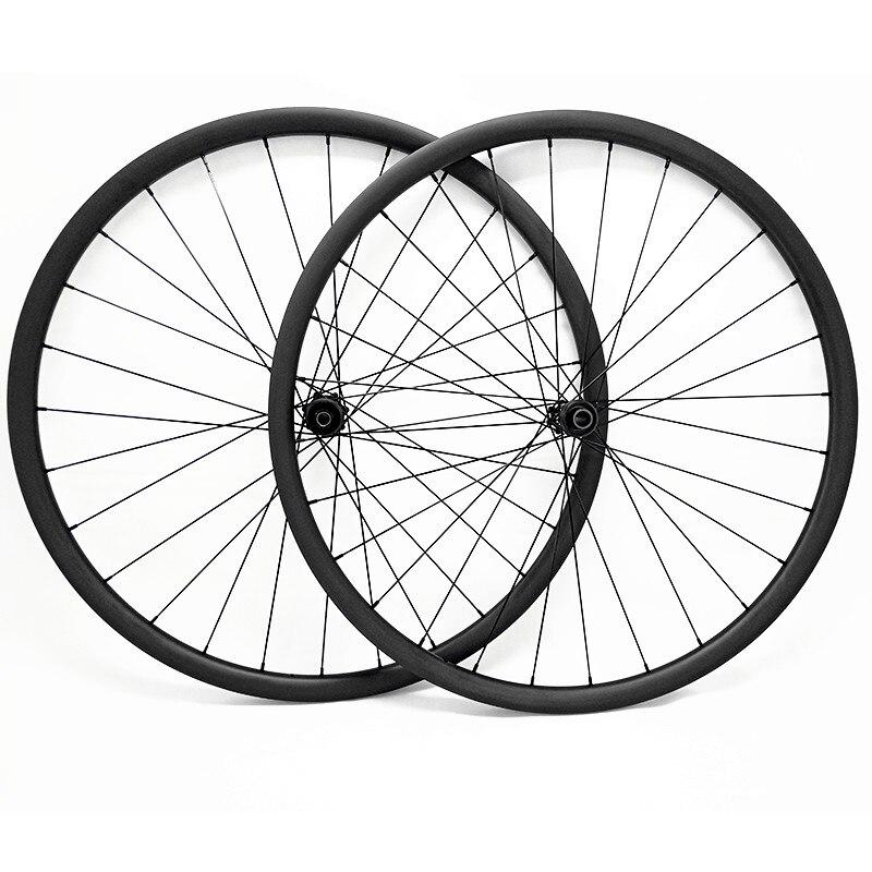 29er carbono mtb disco rodas 27x25mm ultraleve 1190g novatec 100x15 142x12 sem câmara de ar mtb rodas da bicicleta disco rodado 1420 raios