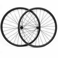 Ruedas de disco 29er mtb 27x25mm tubeless NOVATEC D411SB/D412SB ruedas ultraligeras de carbono mtb bicicleta de 1190g juego de ruedas de disco 1420 radios