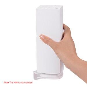 Image 4 - Wand Halterung Stehen Halter für Linksys Velop Tri band Ganze Hause WiFi Mesh System, Weiß 3 Pack