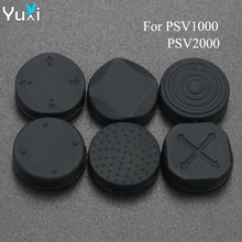 YuXi 6 in 1 Silicone Stick Grips Cap Analog Joystick Cover For Sony PlayStation PS Vita PSV 1000 2000 Slim стоимость