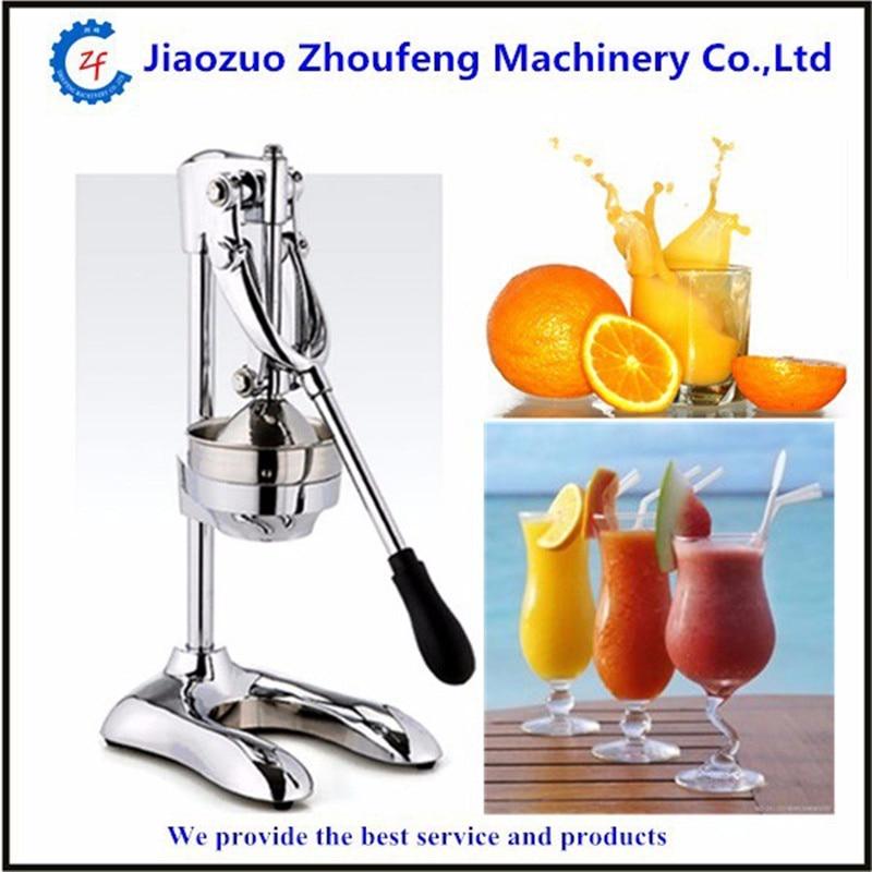 Mini manual stainless steel ginger oranges lemon fruit juicing machine industrial hand press slow juicer