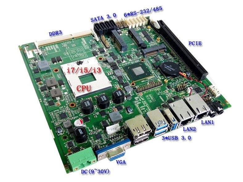 Good Motherboard Firewall Motherboard Mini Itx SSD 3G WiFi (PCM5-QM77)