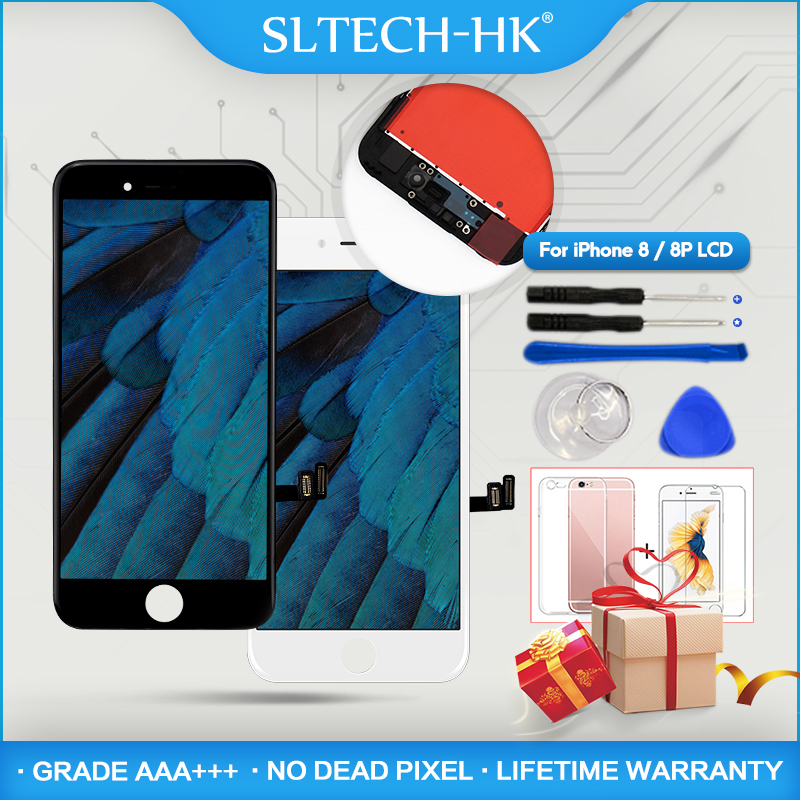 AAA+++ Grade For iPhone 8 8Plus LCD With 3D Touch Display For iPhone 7 7Plus Screen Replacement No Dead Pixel High QualityAAA+++ Grade For iPhone 8 8Plus LCD With 3D Touch Display For iPhone 7 7Plus Screen Replacement No Dead Pixel High Quality
