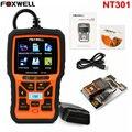 Универсальный Автомобильный Код Читателя OBD2 Сканер Foxwell NT301 OBD-II EOBD Двигателя OBD2 Диагностический Scan Tool + Онлайн Графический Данные Сканирования инструмент