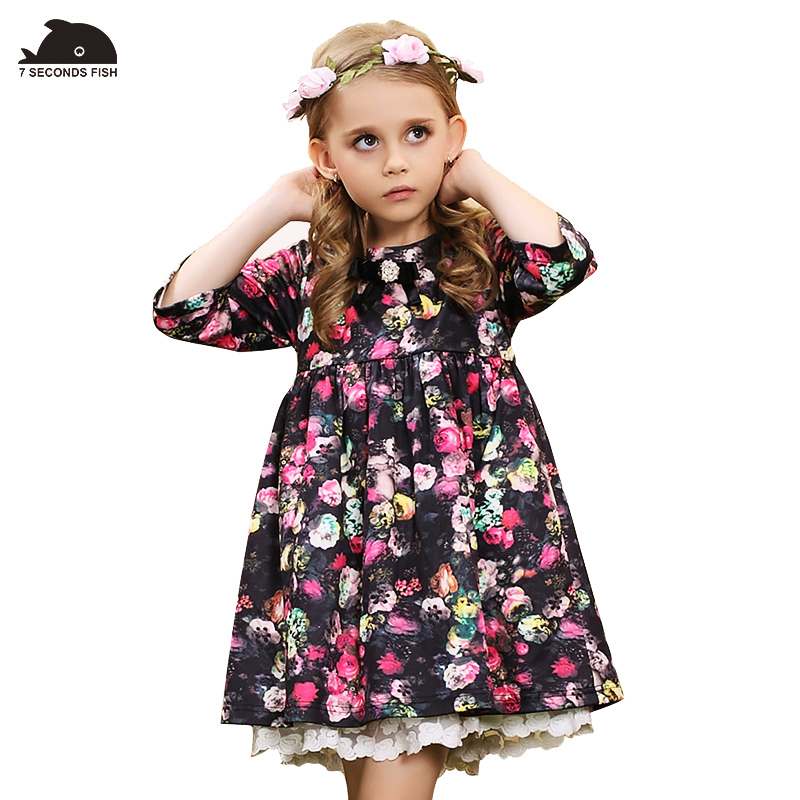 vestidos kids dresses for girls flower dress princess 2018 girls clothes 4 6 8 10 12 14 year robe fille enfant toddler dress