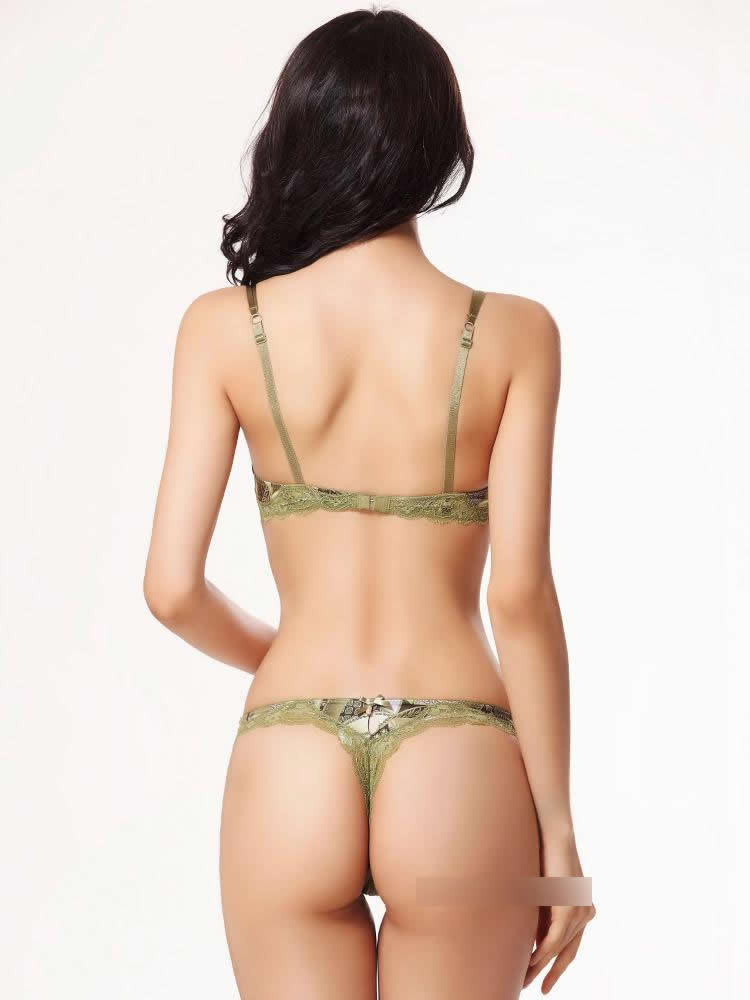 66432574c77f8 New Brand Retro Vintage Embroidery Women Bra Set Underwear Sexy Push ...