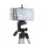 Câmera tripé + suporte do telefone + carreg o saco de nylon da câmera tripé stand titular para iphone samsung mobile phone