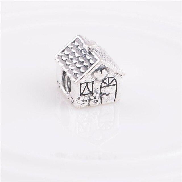 Pandora Women's 925 Sterling Silver House Charm Bead vWa3OjxT9d