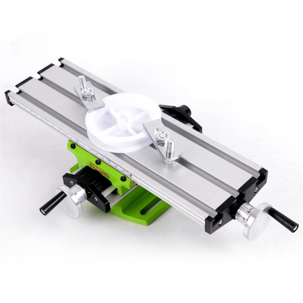 PW TOOLS Mini Multifunctional Cross Precision Working Table for Drilling Milling Machine Bench Vise Mechanic Tools цена