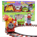 Slot  Train toys Slot kis toys In The Night Garden Series baby plastic toys car with Music and Light +