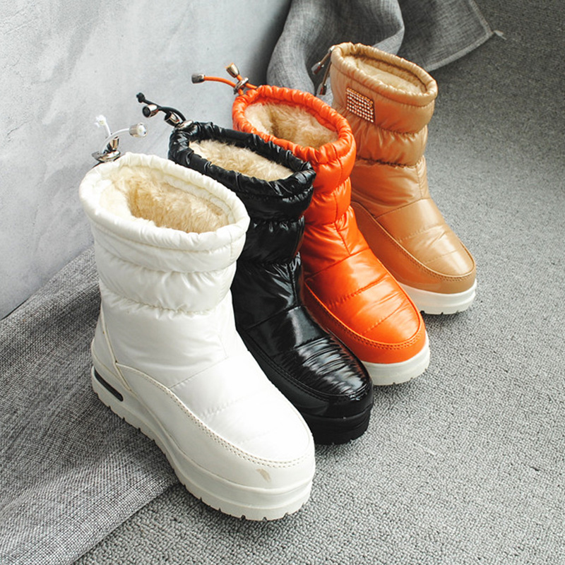 9e02aa293a3ff 2019 New Children Fashion Winter Boots Shoes Plush Warm Kids Boys Girls  Soft Boots Snow Shoes Outdoor Children Winter Footwear
