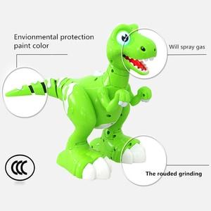 Image 3 - RC Dinosaurier Roboter Spielzeug Geste Sensor Interaktive Fernbedienung Robotic Spary Dinosaurier Smart Elektronische Spielzeug Radio Gesteuert