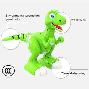 Image 3 - RC 恐竜ロボットおもちゃジェスチャーセンサーインタラクティブリモートコントロールロボット Spary 恐竜スマート電子玩具ラジオ制御