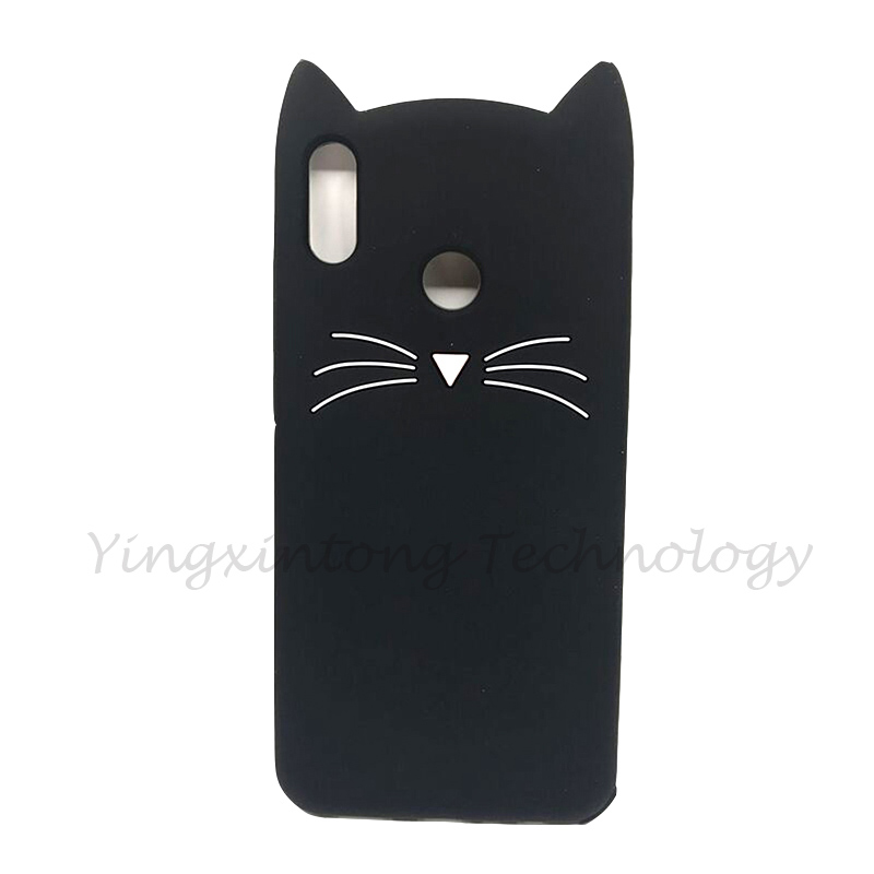 For Huawei Honor 8X Case Soft Silicone Cartoon Lucky Cat Unicorn Cover Honor 8X 6 5 quot Housing Phone Case For Huawei Honor8X Coque in Fitted Cases from Cellphones amp Telecommunications