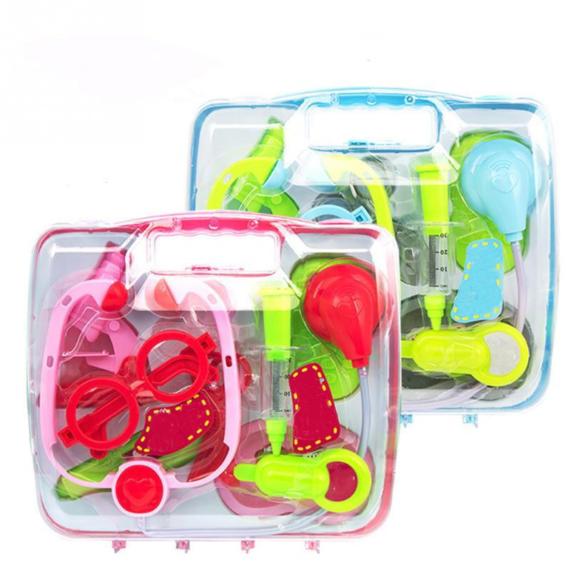 Kids Doctor Set Product Baby Toys Abs Medicine Cabinet Children Simulation Doctors Pretend Play Educational Paly House Gift