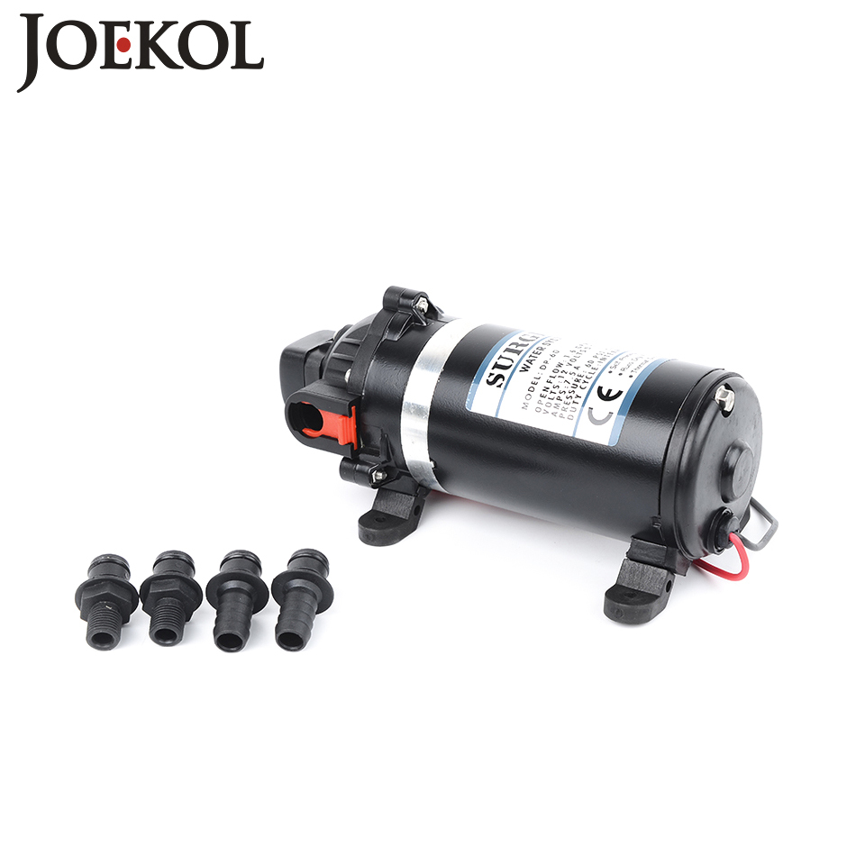 DP-160 DC 12v Water Pump High Pressure Diaphragm Pump 95m lift Submersible pumps For Chemical 160psi 51mm dc 12v water oil diesel fuel transfer pump submersible pump scar camping fishing submersible switch stainless steel