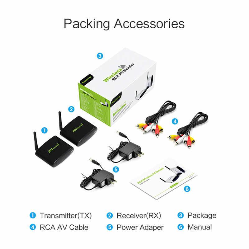 REDAMIGO 2 4GH 150M Wireless AV Transmitter & Receiver TV Broadcasting  Audio Video sender TV Signal receiver 3 RCA RTE330+